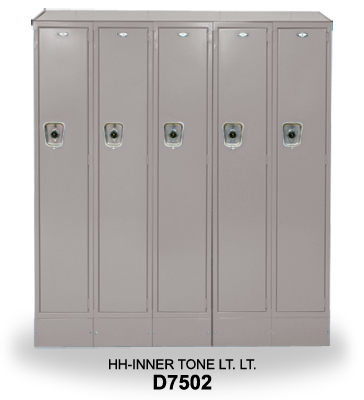 Locker example used for electrostatic color selecting