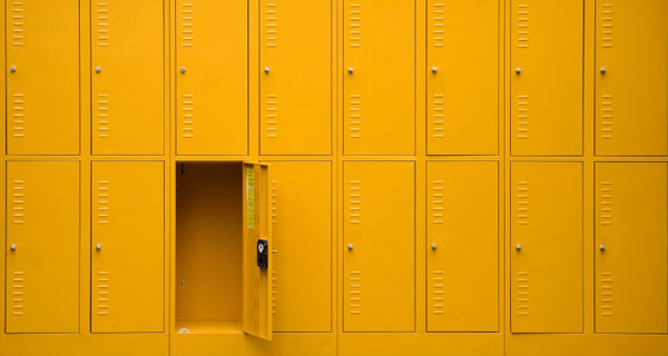Electrostatic Painted Lockers in Connecticut