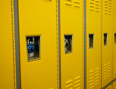Electrostatic Painted Lockers in Tennessee