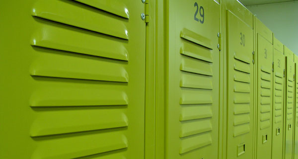 Electrostatic Painted Lockers in Louisiana