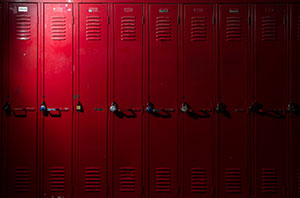 Electrostatic Painted Lockers in Maryland
