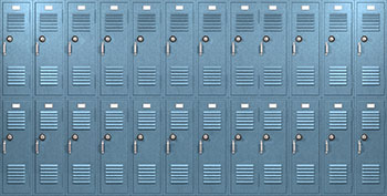 Electrostatic Painted Lockers in North Carolina