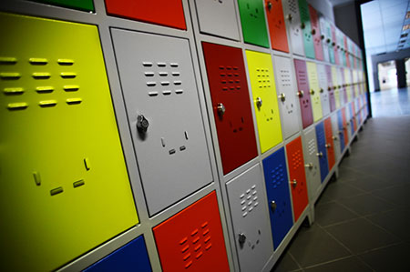 Electrostatic Painted Lockers in Pennsylvania